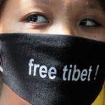 Free Tibet doek voor mond