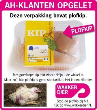 Advertentie in dagbladen van Wakker Dier.