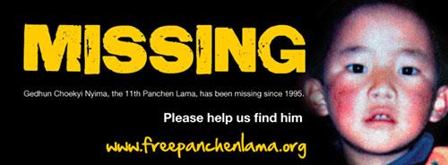 Panchen Lama vermist