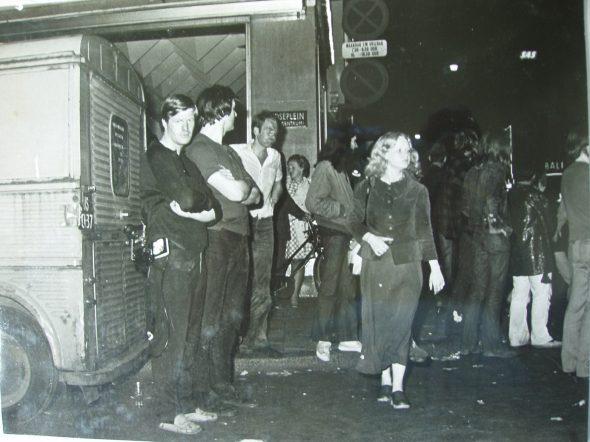 Paul Stolk en Joop rellen Amsterdam juni 1971