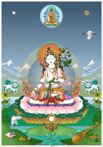 Witte Tara.
