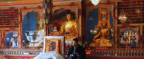 Losar Foto 11 Tempel Schoten Losar Speech Thupten Phegyal - Bianca