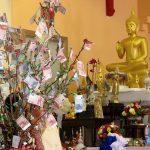 Geld offering_van de Sangha aan de monniken