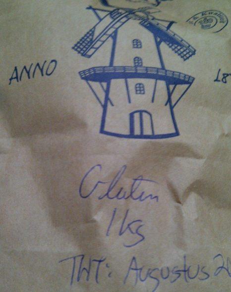 Beter glutenpoeder 28 juni 2014