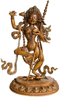 Vrouwen en boeddhisme ill_vajrayogini