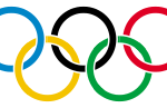 Olympische spelen 2008 Peking Olympic_rings_with_white_rims_svg