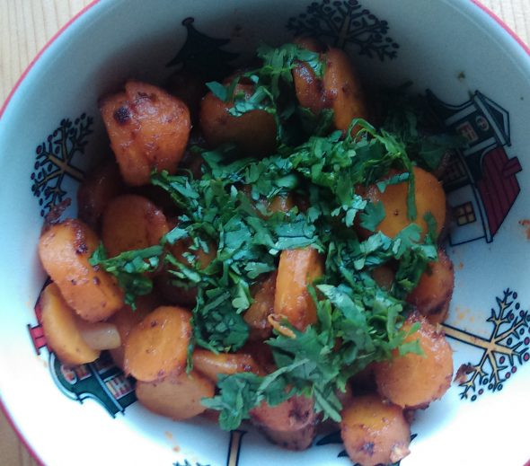 Beter pittige wortelsalade 24 april 2015