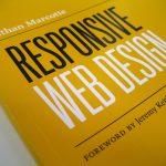 Omslag van 'Responsive Web Design' van Ethan Marcotte