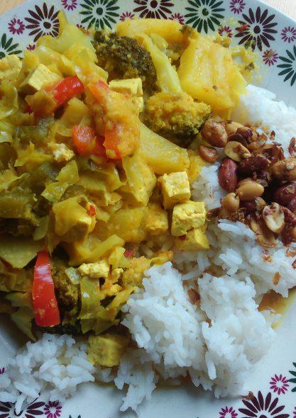 Maleisische ananascurry