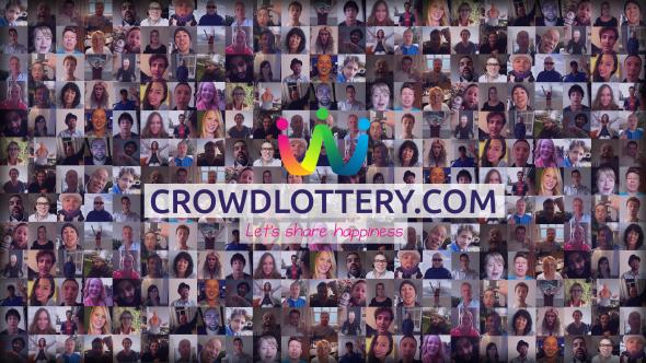 Crowd lottery mensen