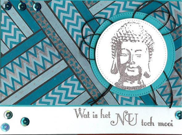 Mirjam Wapstra Boeddha kaart 5