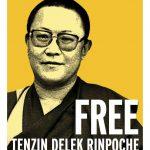 Tenzin Delek poster voor vrij