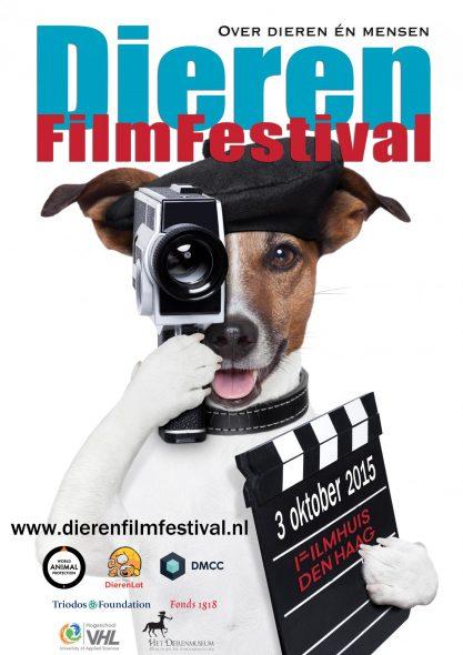 Dierenfilmfestival Den Haag poster oktober 2015