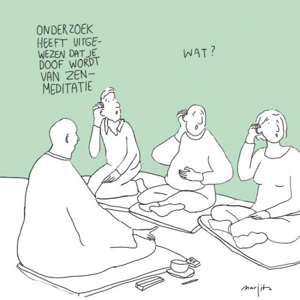 Onderzoek heeft aangetoond dat je doof wordt van zen meditatie 11 oktober 2015