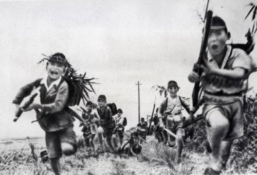 Japanse soldaten in de Tweede Wereldoorlog