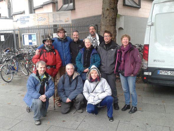 Manu Grisar straatretraite Keulen 2015 groepsfoto