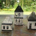 Drie huisjes van Anna