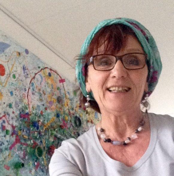 Anita Dielen selfie