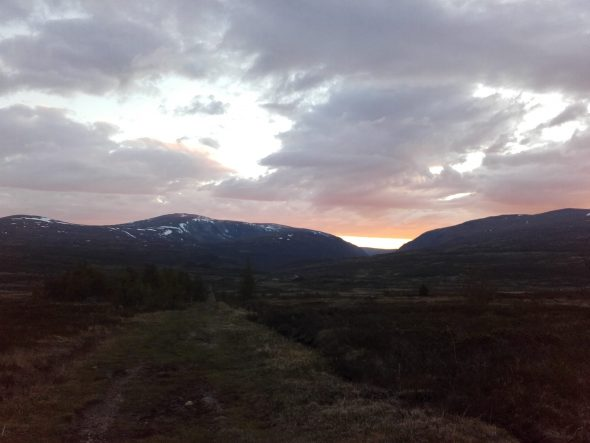 Berglandschap (foto: Menno Prins)