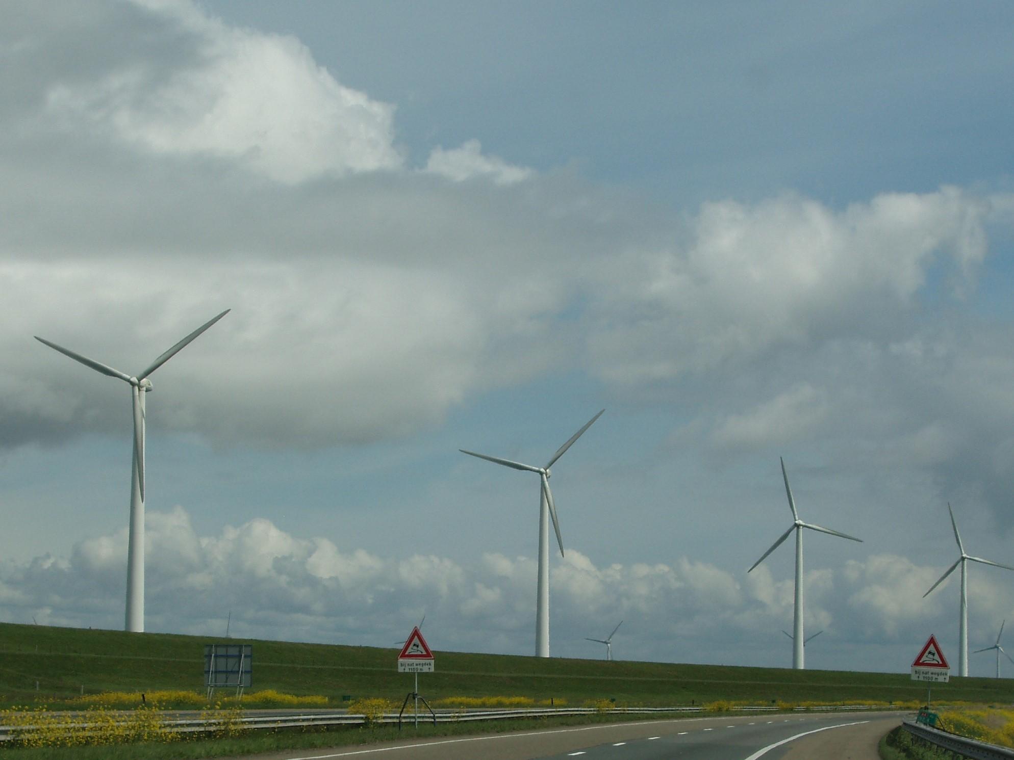 Windturbines Stroom Energie Wind Milieu Foto Joop Hoek Milieudefensie Krijgt Van Rechter Gelijk Kort Geding Gezonde Lucht Boeddhistisch Dagblad