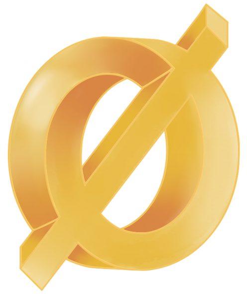 Gouden onmogelijk agnoseteken