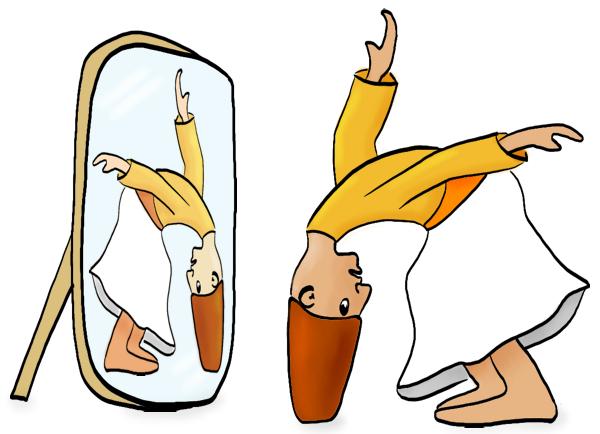 Derwisj buigt zo diep voor zijn spiegelbeeld dan hun hoeden de grond raken.